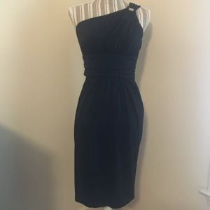 Maggy London one should strap black dress